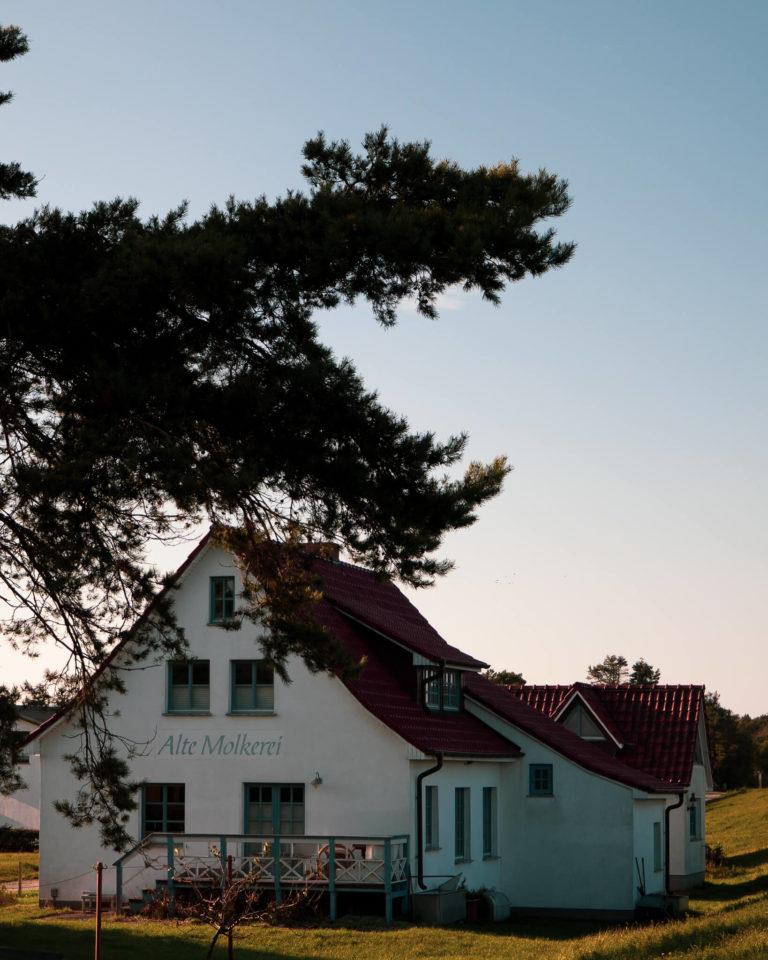 Hiddensee, Alte Molkerei in Vitte